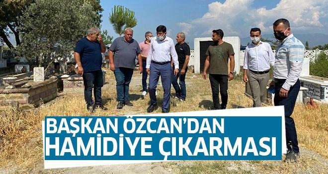 Başkan Özcan ve ekibinden Hamidiye çıkarması