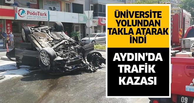 Aydın'da aşırı sürat felaket getirdi