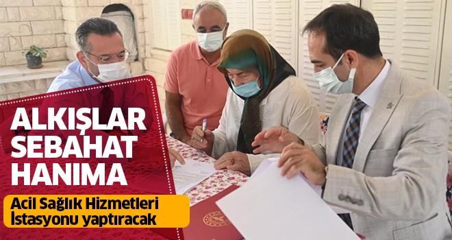 Aydınlı hayırsever 'Acil Sağlık Hizmetleri İstasyonu' yaptıracak