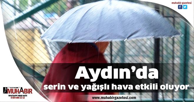 Aydın'da serin ve yağışlı hava etkili oluyor