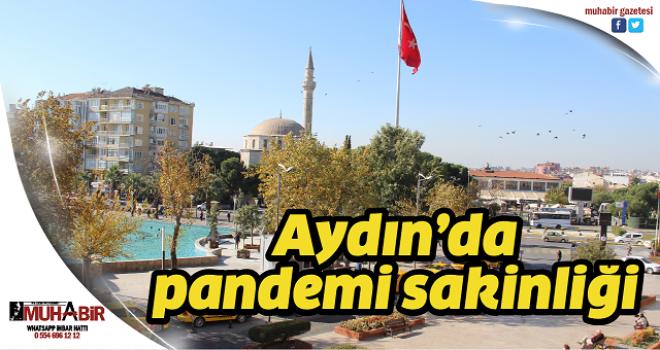 Aydın'da pandemi sakinliği