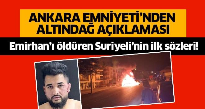 Suriyeli katilin ilk sözleri!