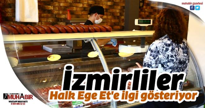 İzmirliler Halk Ege Et'e ilgi gösteriyor