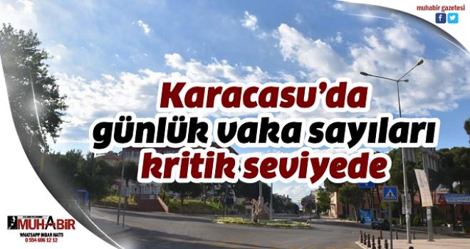 Karacasu'da günlük vaka sayıları kritik seviyede