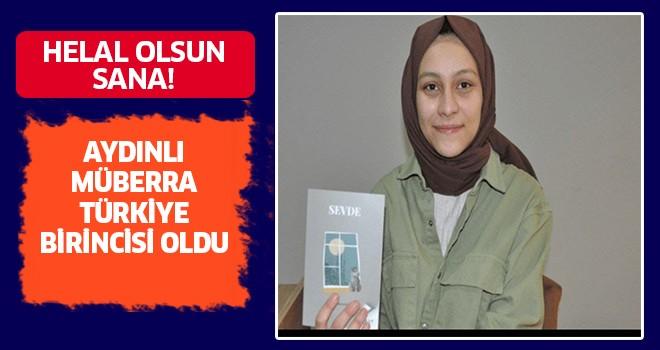 Aydınlı Müberra, Türkiye birincisi oldu