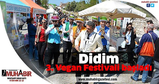 Didim 3. Vegan Festivali başladı