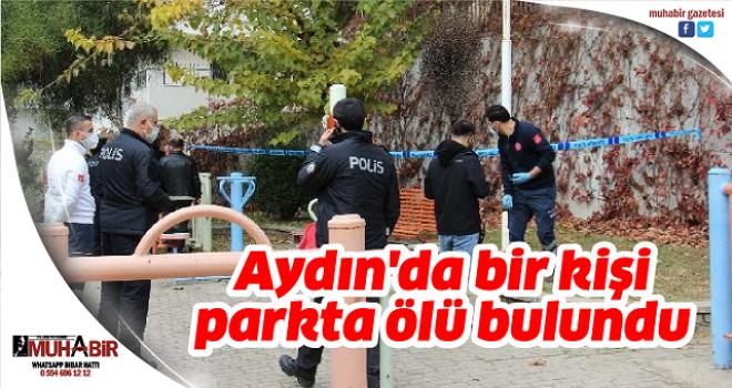 Aydın'da bir kişi parkta ölü bulundu