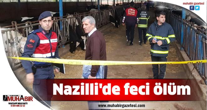 Nazilli'de feci ölüm