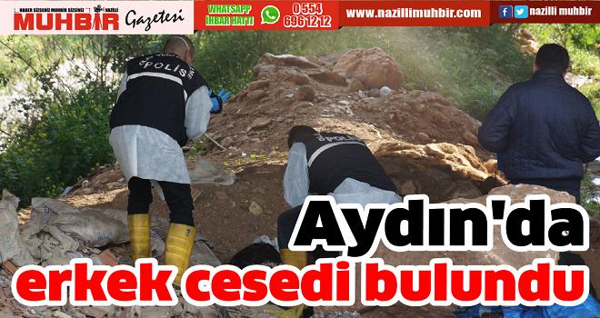 Aydın'da erkek cesedi bulundu
