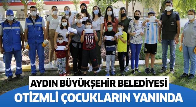 Büyükşehir Belediyesi Otizmli çocukların yanında