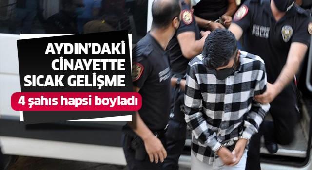 Cinayet davasında 4 tutuklama
