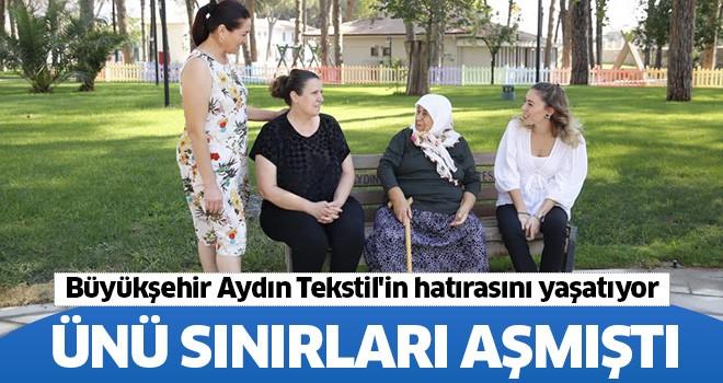 Büyükşehir, Aydın Tekstil'in hatırasını yaşatıyor