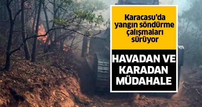 Karacasu'daki yangında 4. gün!