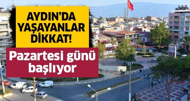 Aydın'da yaşayanlar dikkat!