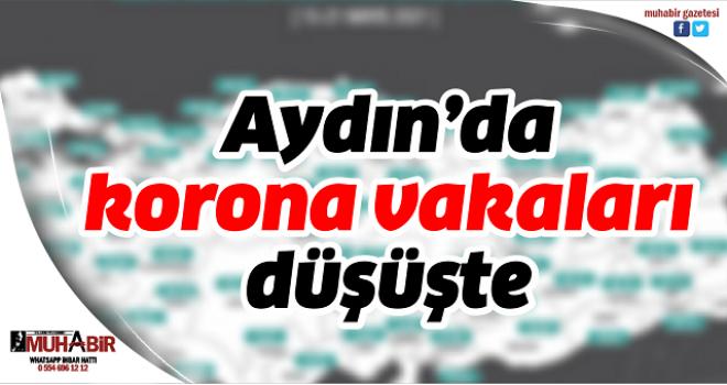 Aydın'da korona vakaları düşüşte