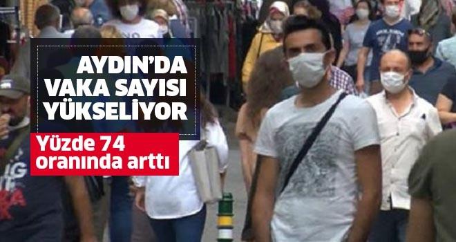 Aydın'da yüzde 74 artış yaşandı