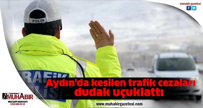 Aydın'da kesilen trafik cezaları dudak uçuklattı