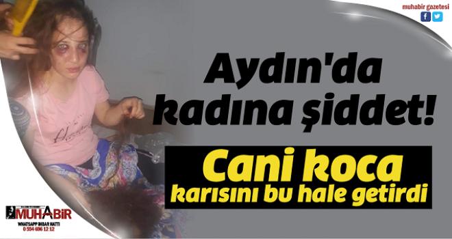 Aydın'da kadına şiddet!