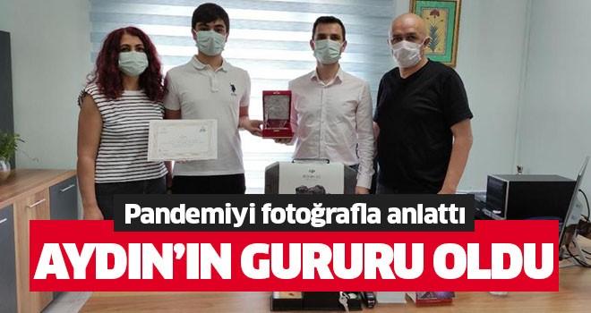 Pandemiyi fotoğrafla anlattı, Aydın'ın gururu oldu