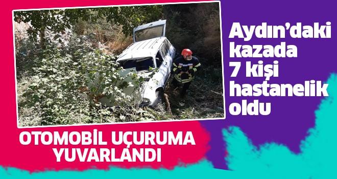 Aydın'da kaza: 7 yaralı