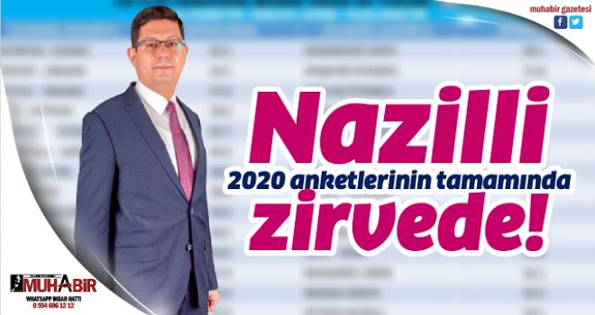 Nazilli, 2020 anketlerinin tamamında zirvede!