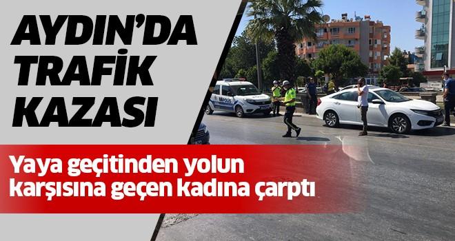 Aydın'da trafik kazası:1 yaralı