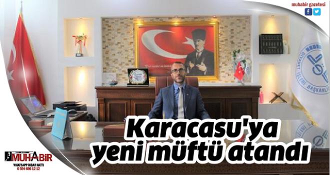 Karacasu'ya yeni müftü atandı