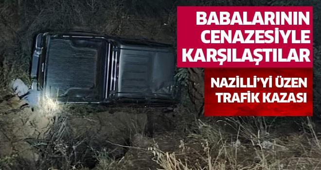 Nazilli'yi üzen trafik kazası!