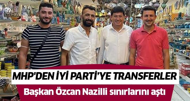 Başkan Özcan Nazilli sınırlarını aştı