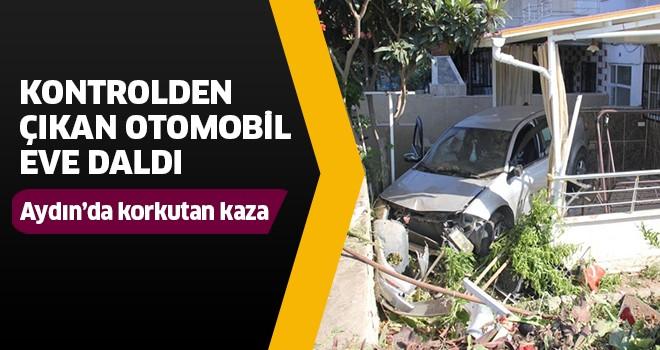 Aydın'da korkutan kaza