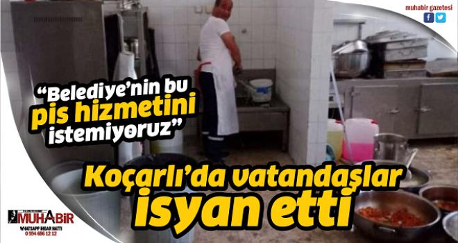Koçarlı'da vatandaşlar isyan etti