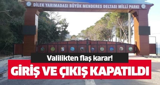 Milli Park'a giriş ve çıkışlar kapatıldı