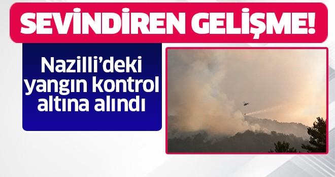 Nazilli'deki yangın kontrol altına alındı