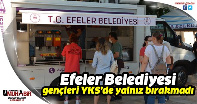 Efeler Belediyesi gençleri YKS'de yalnız bırakmadı
