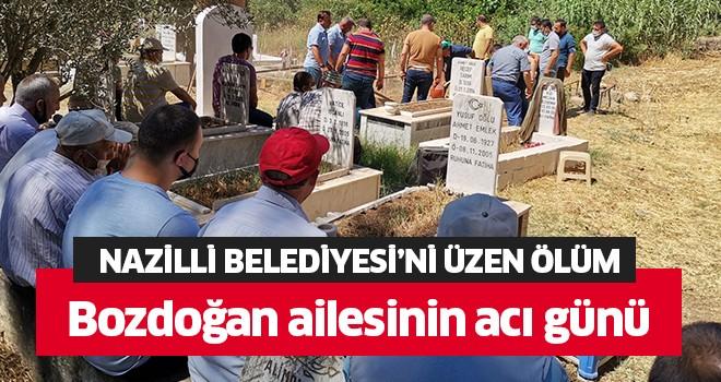 Nazilli Belediyesi'ni üzen ölüm