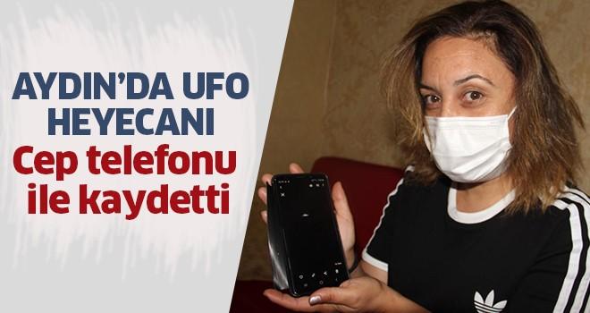 Aydın'da UFO heyecanı