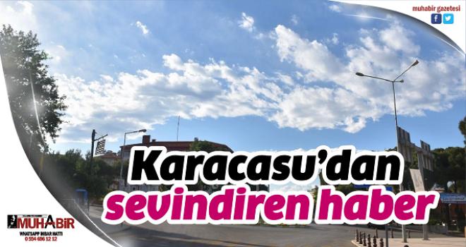 Karacasu'dan sevindiren haber