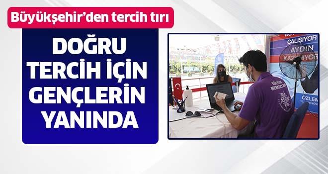 Aydın Büyükşehir Belediyesi, doğru tercih için gençlerin yanında