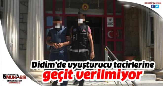 Didim'de uyuşturucu tacirlerine geçit verilmiyor