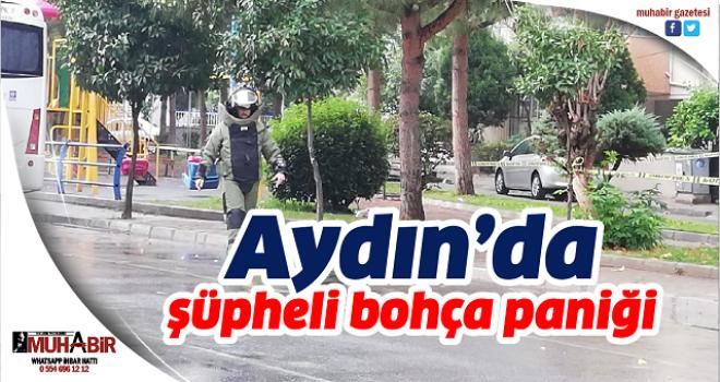 Aydın'da şüpheli bohça paniği