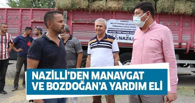 Nazilli'den Manavgat ve Bozdoğan'a yardım eli