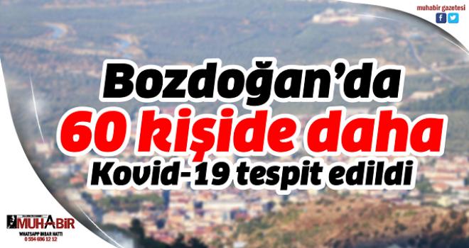 Bozdoğan'da 60 kişide daha Kovid-19 tespit edildi