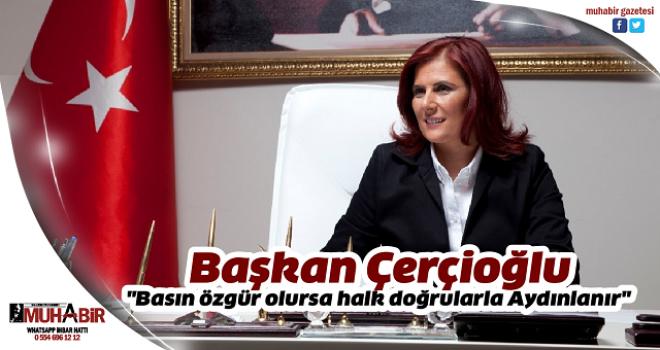 Başkan Çerçioğlu 24 Temmuz dolayısıyla mesaj yayınladı