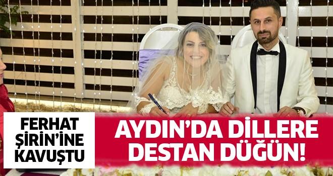 Aydın'da dillere destan düğün!