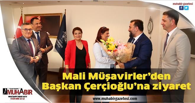 Mali Müşavirler'den Başkan Çerçioğlu'na ziyaret