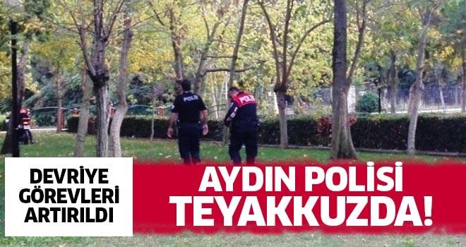 Aydın polisi teyakkuza geçti