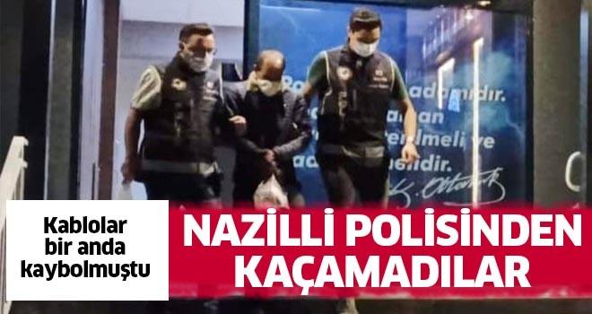Nazilli polisinden kaçamadılar