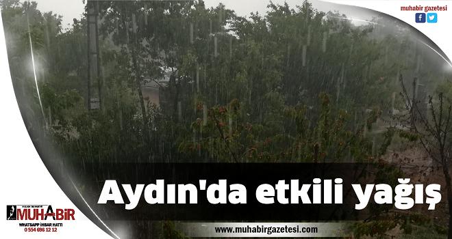 Aydın'da etkili yağış