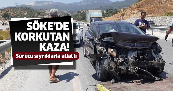 Söke'de trafik kazası!