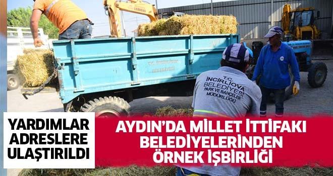 Aydın'da Millet İttifakı belediyelerinden örnek işbirliği